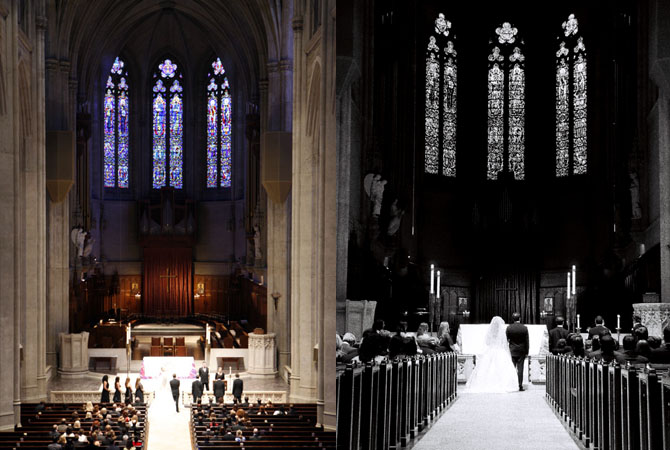 Grace Cathedral / Fairmont Hotel Wedding Gallery